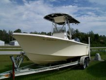 2007 Jones Brothers 20' Cape Fisherman