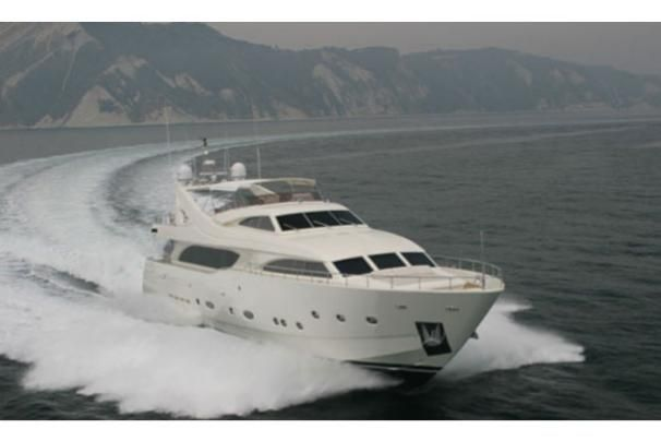 2007 Ferretti Yachts Custom Line 112 - Manufacturer Provided Image: 112