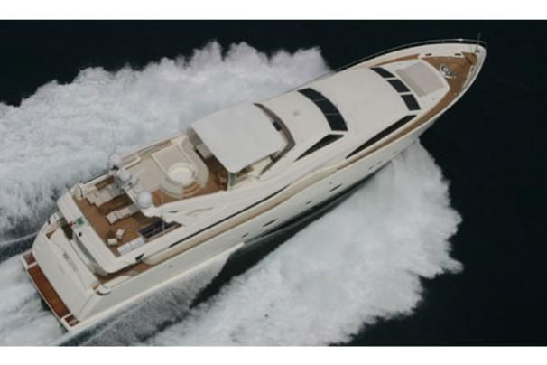 2007 Ferretti Yachts Custom Line 112 - Manufacturer Provided Image: Above View