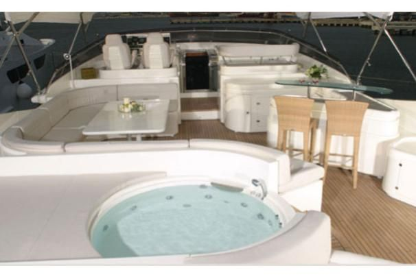 2007 Ferretti Yachts Custom Line 112 - Manufacturer Provided Image