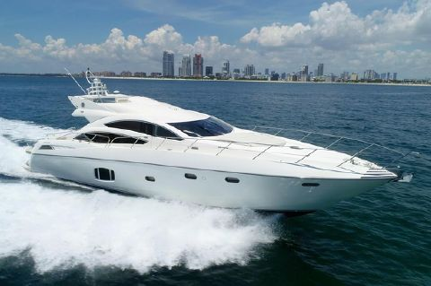 2010 Sunseeker 74 Predator Sport Bridge - Running Miami Beach