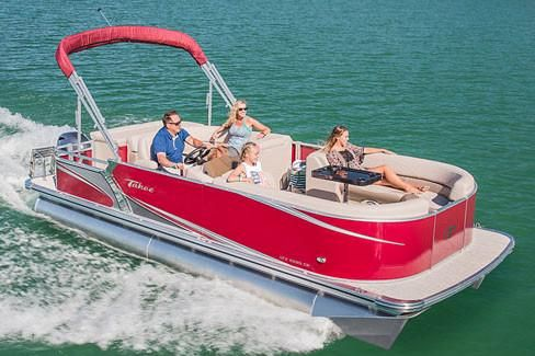 2018 Tahoe Pontoon LTZ Cruise - 26'