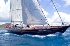 1986 Custom Alloy 72 Sloop