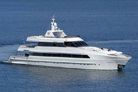 2008 Custom M/Y Luxury FB Yacht - Profile