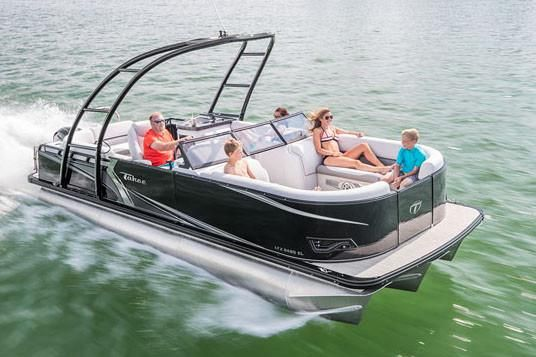 2018 Tahoe Pontoon LTZ Windshield - 22'