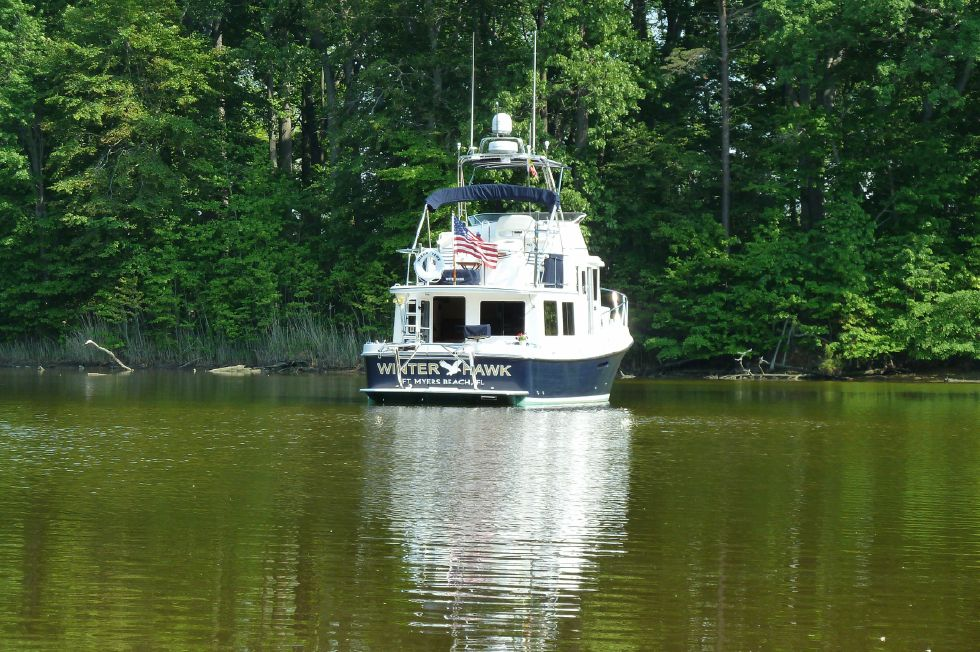 2009 American Tug 34 Flybridge Trawler Turn Key!! - What are you waiting for!! Call Today!!
