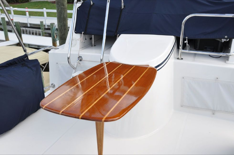 Custom Flybridge Table