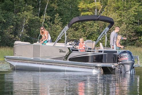 2018 Tahoe Pontoon LTZ Rear Fish - 24'