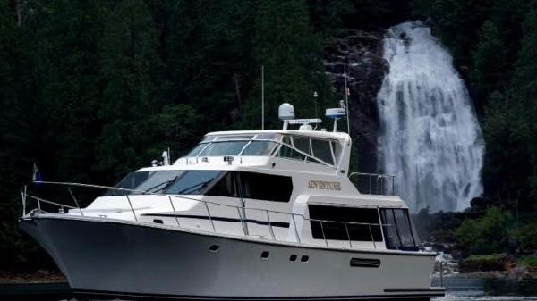 Pacific Mariner Raised Pilothouse Up north in quiet waters