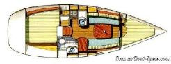 2003 Beneteau Oceanis 311 Clipper Lifting keel