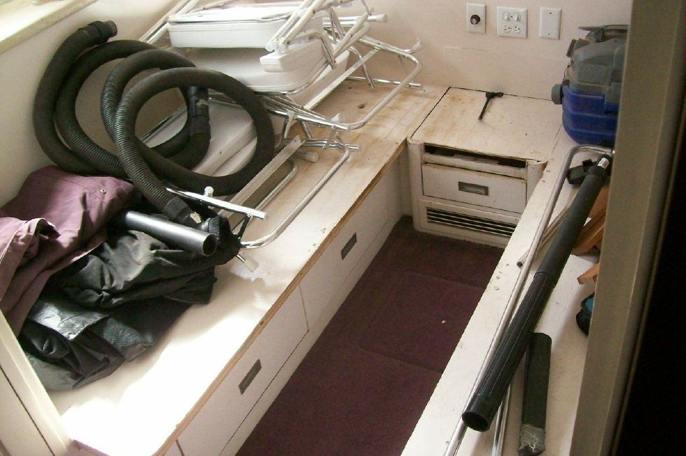 Guest Stateroom 2 Currently used as storage
