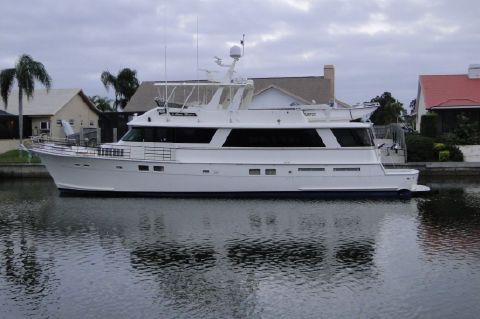 1988 Hatteras Cockpit Motor Yacht Re Powered