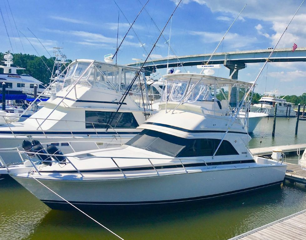 1997 Bertram 36 Convertible - Profile
