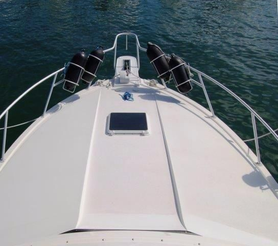 1997 Bertram 36 Convertible - Bow