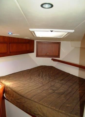 1997 Bertram 36 Convertible - Forward berth