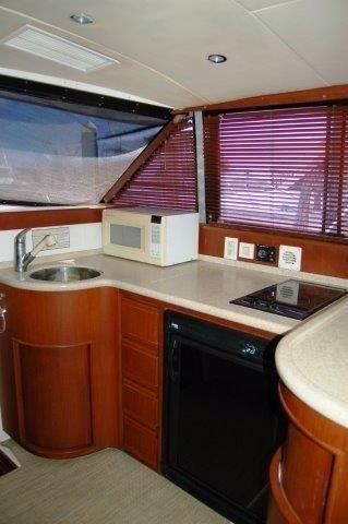 1997 Bertram 36 Convertible - Galley