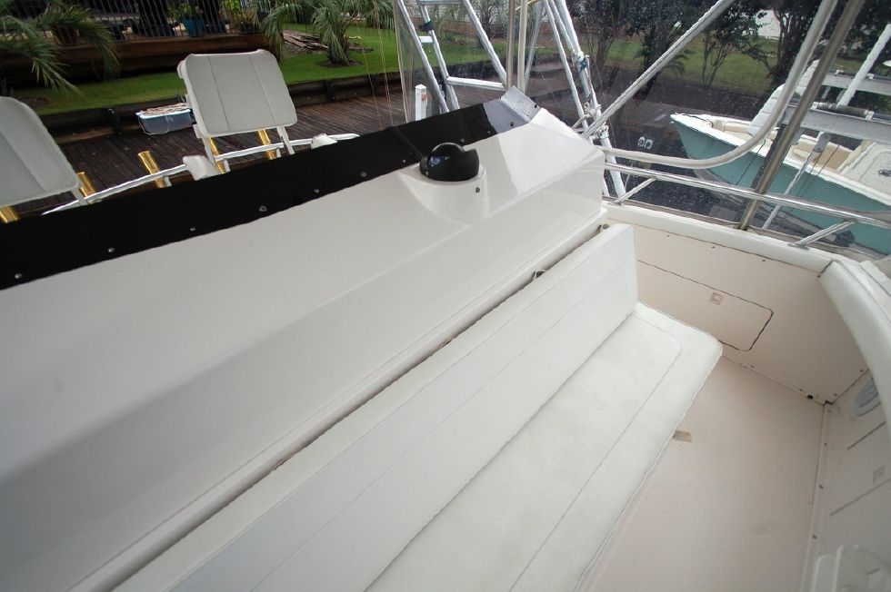1997 Bertram 36 Convertible - Bridge seating 2