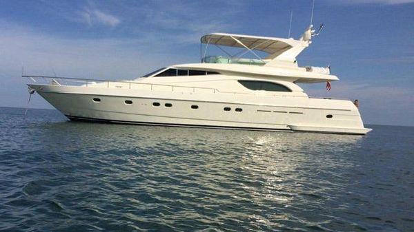 Ferretti Yachts Flybridge Profile