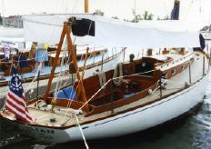 1947 Sparkman & Stephens Brasil & Makinac Class Sloop by Fisher Boat Works