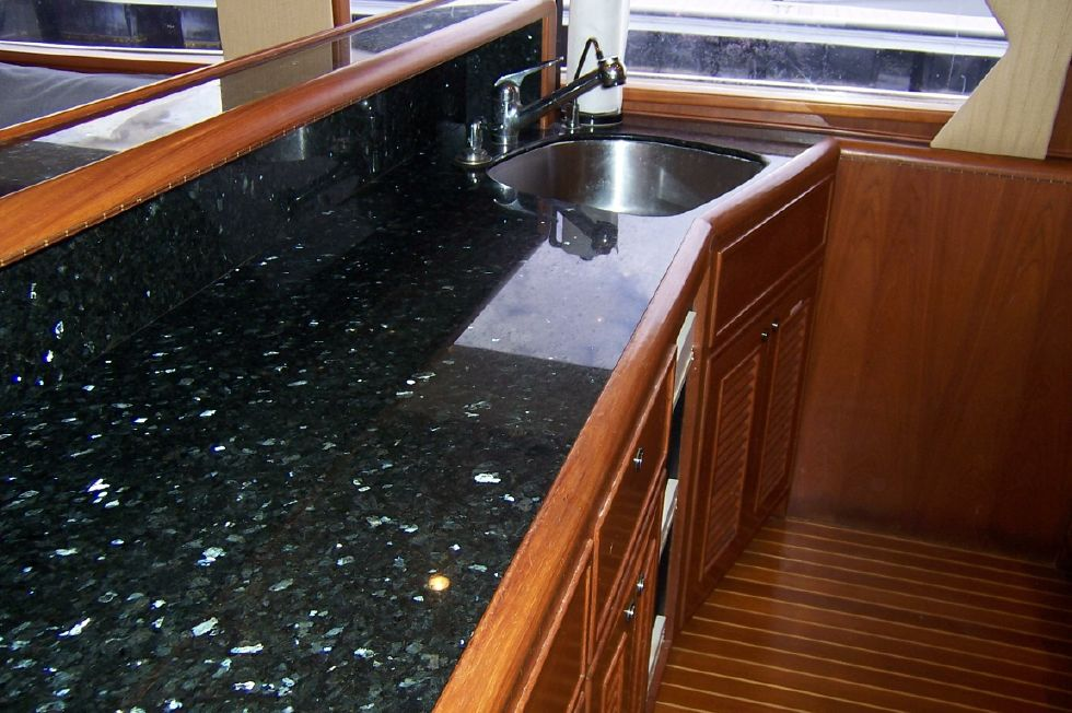 62 Offshore PH Galley Counter