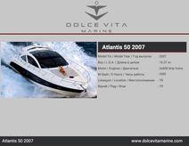 2007 Azimut Atlantis 50
