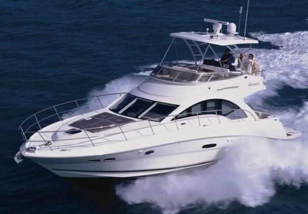 2009 Sea Ray 47 Sedan Bridge - Manufacturer Provided Image