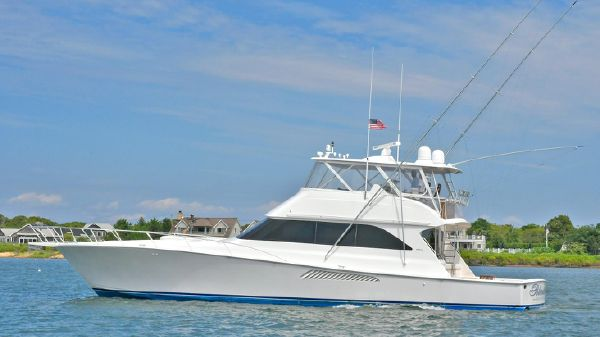 Viking 65 Convertible Port Side