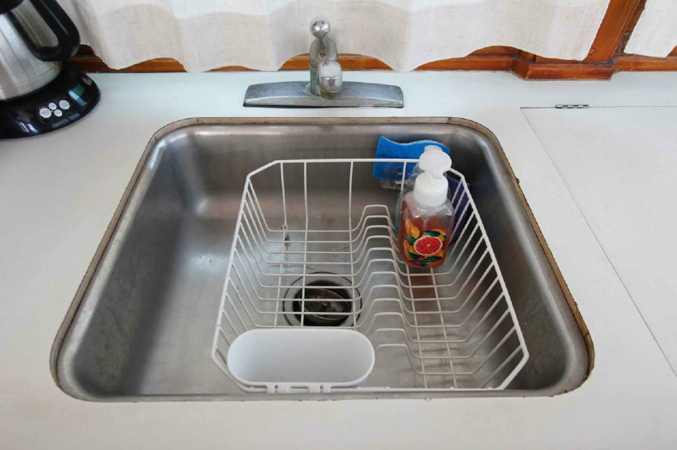 Grand Banks 42 Motoryacht Galley Sink