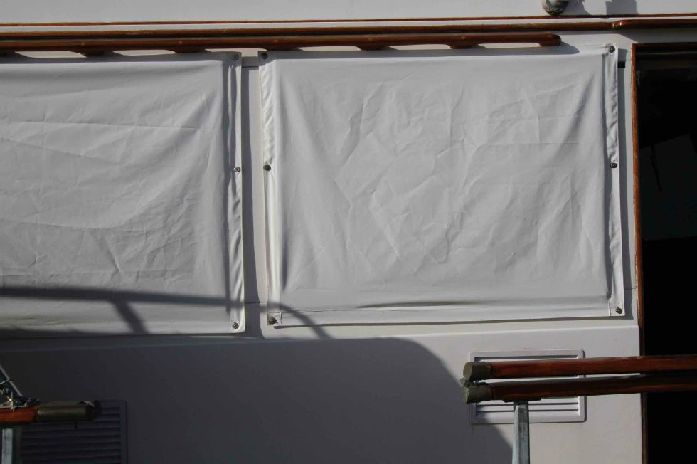 Grand Banks 42 Motoryacht Window Covers