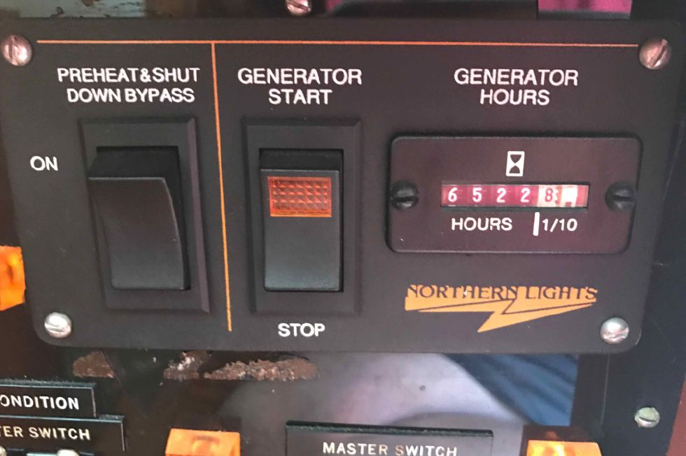 Grand Banks 42 Genset