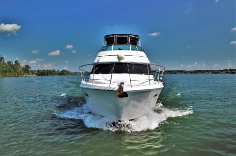 1999 Carver 450 Voyager Pilothouse