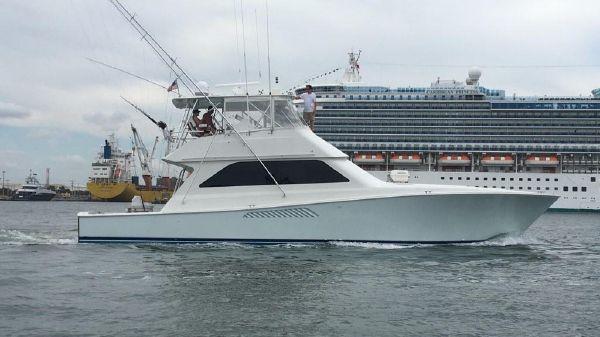 Viking Convertible Defiant III Underway Starboard