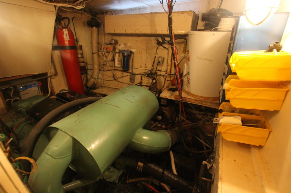 Starboard Engine Room