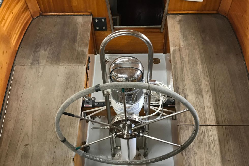 1969 Ohlson 38 sloop/cutter