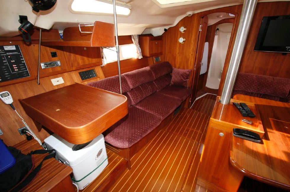 Nav Station and Settee
