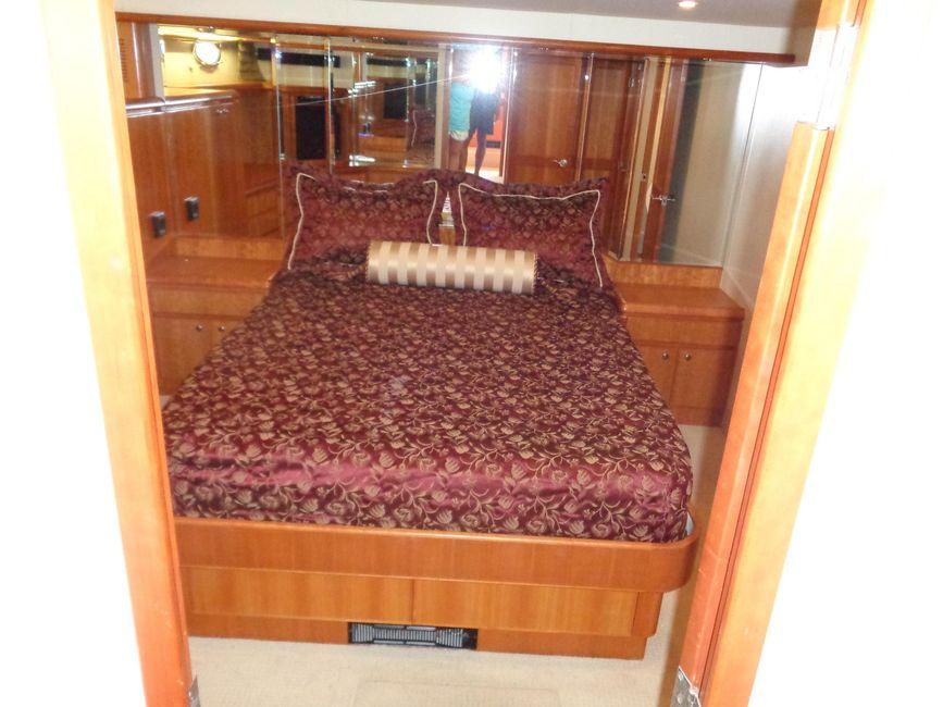 West Bay SonShip 58 Pilothouse Master Cabin
