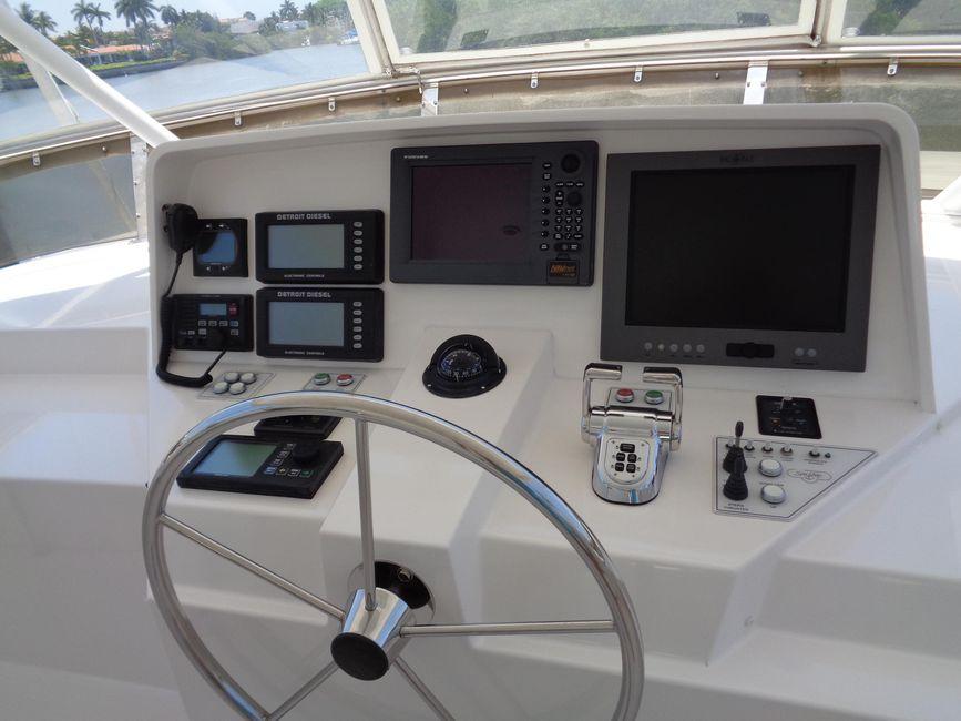West Bay 58 Sonship Flybridge Electronics