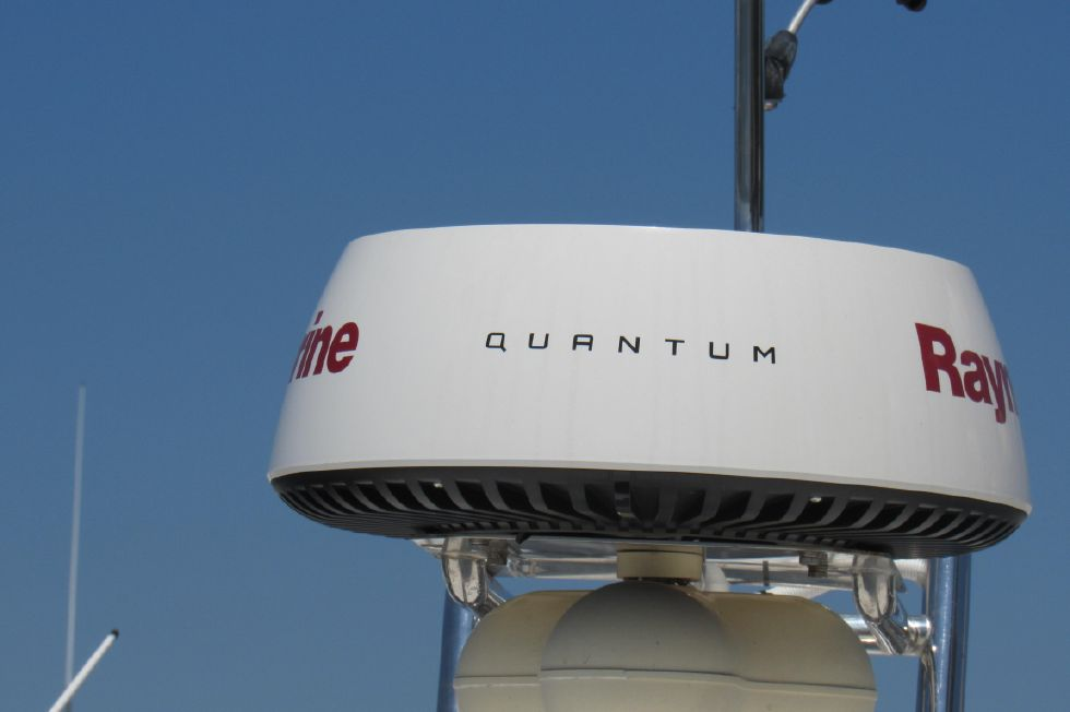 New Raymarine Quantum Radar Dome