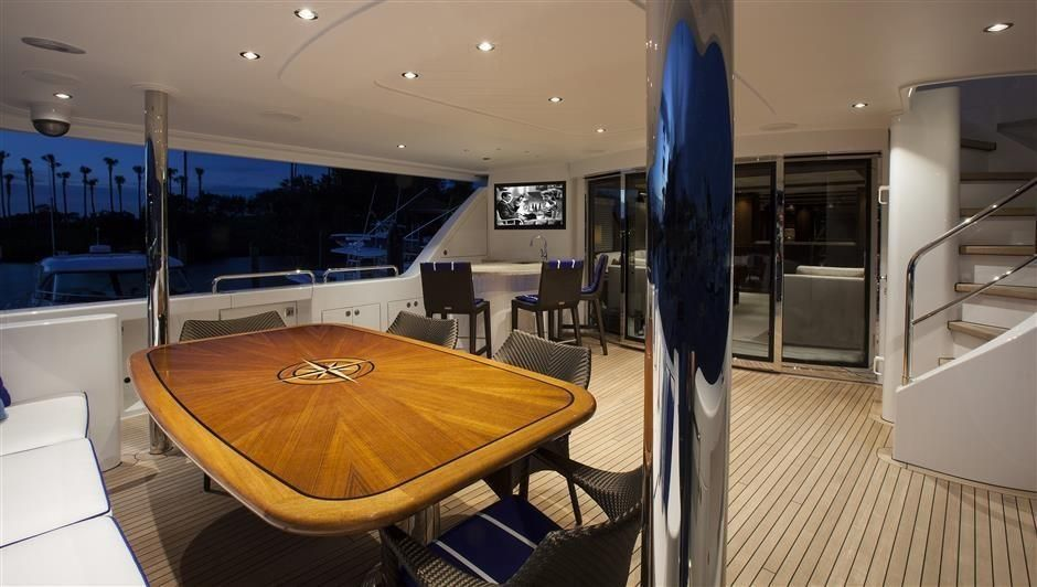 2016 Westport Raised Pilothouse Motoryacht - Aft Deck