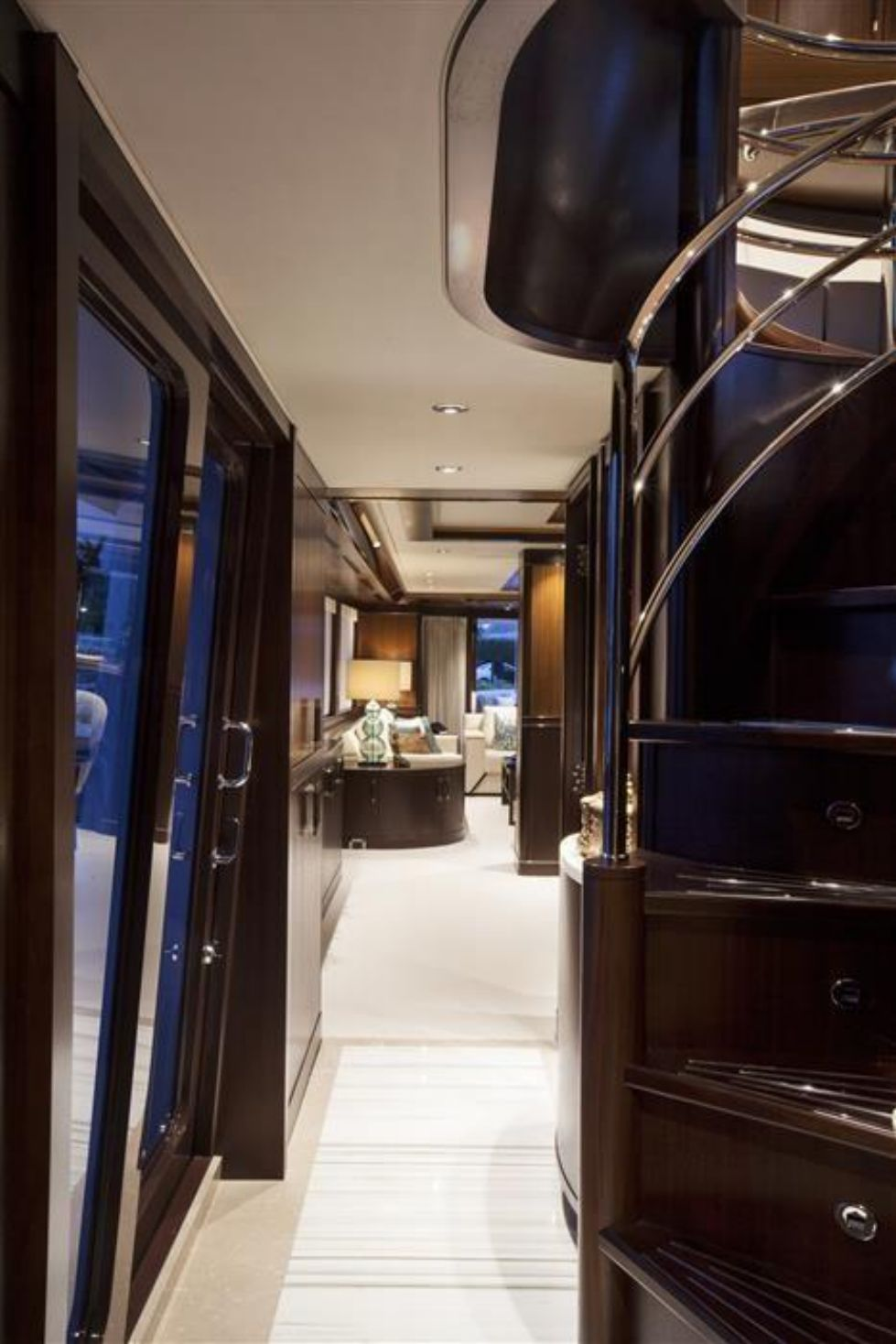 2016 Westport Raised Pilothouse Motoryacht - Companionway