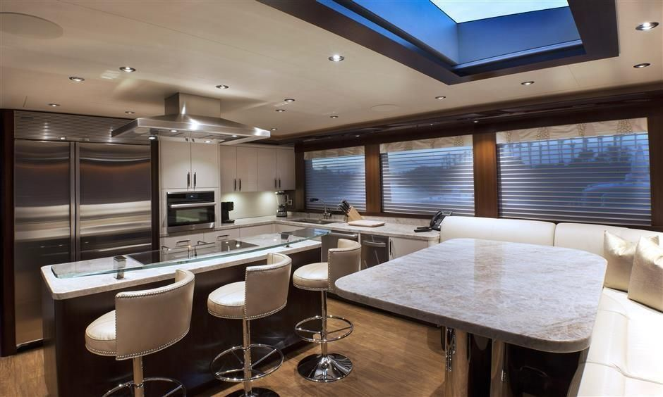 2016 Westport Raised Pilothouse Motoryacht - Galley