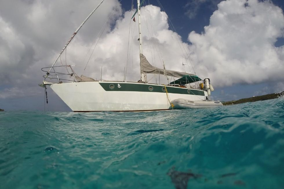 1995 Cartwright Steel Hybrid Cutter - 36� Steel Hybrid Pilothouse Cartwright Cutter Edwards Yacht Sales