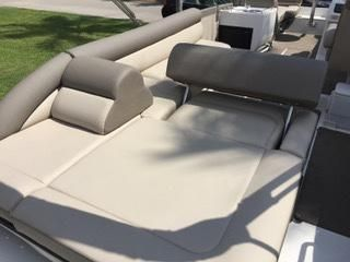 LUXURIOUS AFT RECLINING LOUNGE