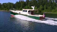 2001 William Garden Custom 40 Downeast Cruiser