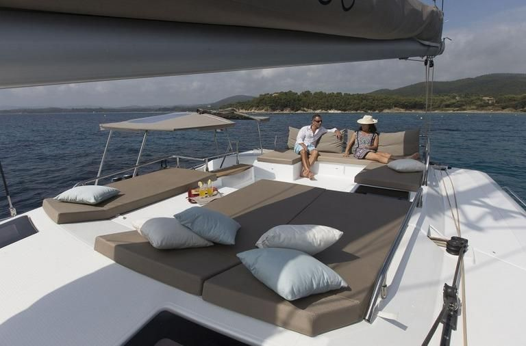 Manufacturer Provided Image: Fountaine Pajot SABA 50 Sunpad