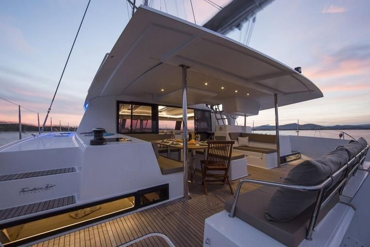 Manufacturer Provided Image: Fountaine Pajot SABA 50 Cockpit