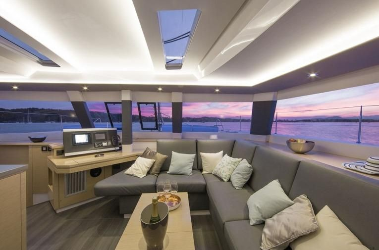 Manufacturer Provided Image: Fountaine Pajot SABA 50 Saloon
