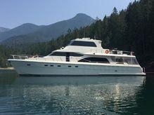 2006 Hampton 740 Yachtfish Skylounge