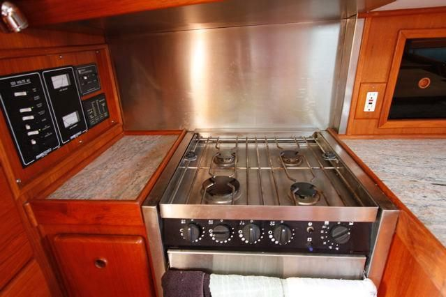 Galley Stove w/Back Splash