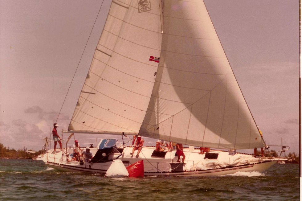 Morgan Starrett & Jenks 45 Under Sail